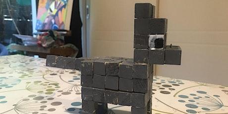 Minecraft Paper Craft tickets