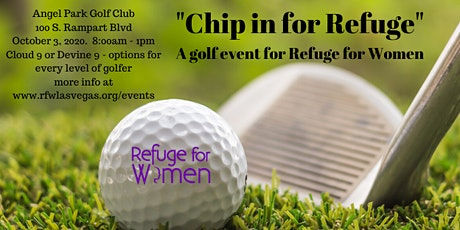 Chip In For Refuge at our 5th Annual Golf Event tickets