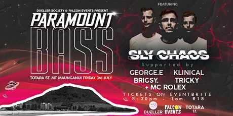 PARAMOUNT BASS ft. Sly Chaos (AKL) DNB Night - SOLD OUT tickets