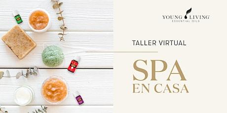 Taller virtual: Spa en casa entradas