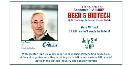 Virtual LST Beer and Biotech tickets