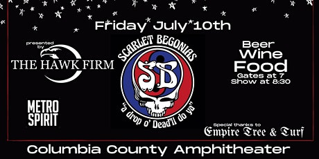 A Night with the Scarlet Begonias, a Tribute to the Grateful Dead tickets