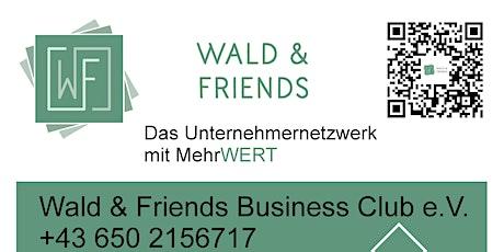 UnternehmerInnen Treffen Parndorf Wald und Friends Netzwerk tickets