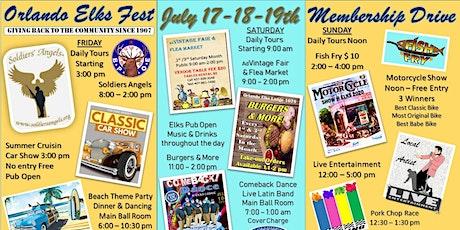 Orlando Elks Fest - Membership Drive - Music - Food - Car/Bike Show & More tickets