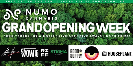 NUMO Cannabis 124st Grand Opening tickets