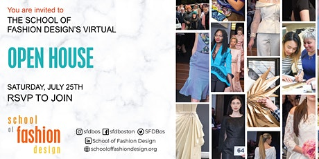Virtual Open House for the School of Fashion Design tickets