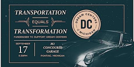 Transportation = Transformation tickets