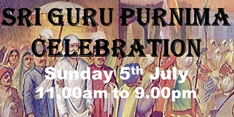 Guru Purnima 2020 - Shirdi Saibaba Community & Cul tickets