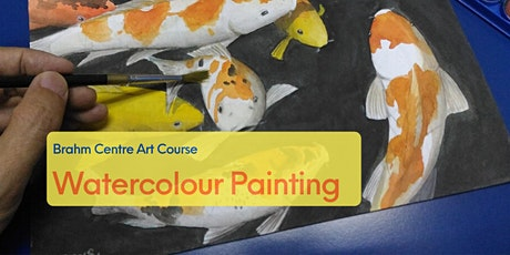 Watercolour Painting  Beginners Online Course from  Aug 18 tickets
