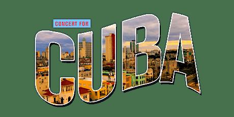 CONCERT FOR CUBA tickets