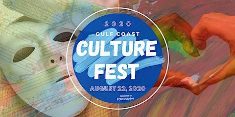 Entertainment Registration for Gulf Coast Culture Fest: August 22,2020 tickets