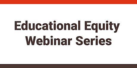 """Educational Equity: """"Where is my privilege?"""" tickets"""