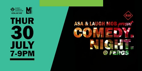 ASA & Laugh Mob present Comedy Night @ Fergs (R18) tickets