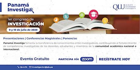 1er. Congreso Virtual de Investigación: Panamá Investiga entradas