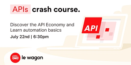 APIs Crash Course tickets