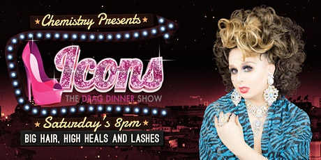Icons Drag Dinner Show tickets