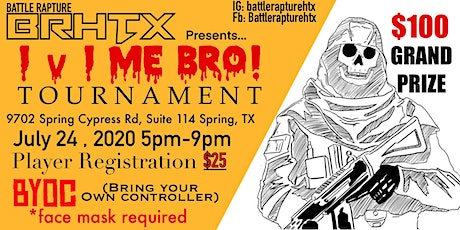 BattleRapture Presents: 1v1 Me Bro tickets
