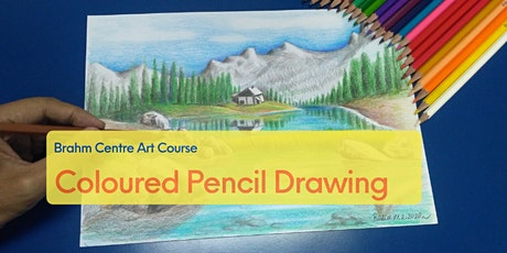 Coloured Pencil Drawing Online Course from Aug 18 tickets