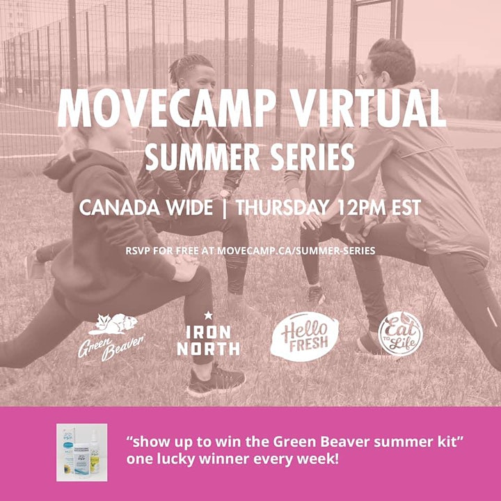 MoveCamp Canada - Free Summer Virtual Workouts image