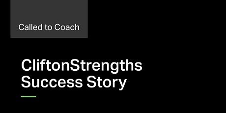Called to Coach: Success Story - Bob Easton & Claire McCaffery of Accenture tickets