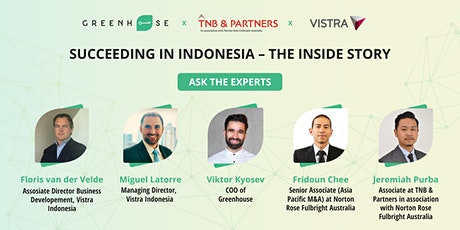 Succeeding in Indonesia – the inside story tickets