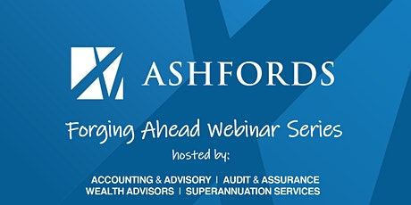 Forging Ahead Webinar #9:  Fraud prevention & managing your business risk tickets