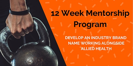 12 Week Mentorship Program tickets