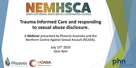 Trauma Informed Care and responding to sexual abuse disclosure. tickets