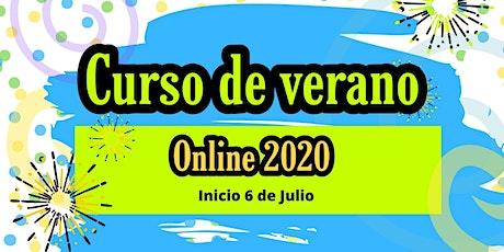 CURSO DE VERANO ONLINE 2020 biglietti