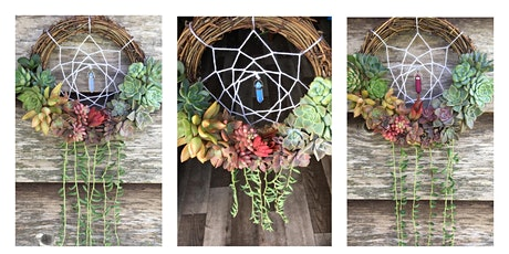Rainbow Succulent Dreamcatcher tickets