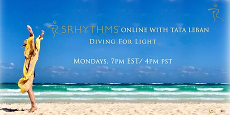 5Rhythms  ONLINE with Tata Leban. Every Monday on ZOOM tickets