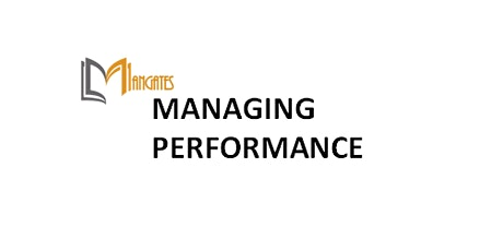 Managing Performance 1 Day Virtual Live Training in Melbourne tickets