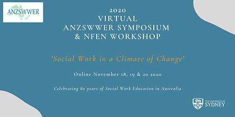 2020  Virtual ANZSWWER Symposium tickets