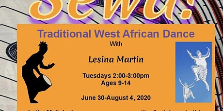 Sewa! Traditional West African Dance Workshop with Lesina Martin tickets