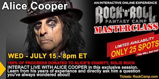 Alice Cooper Masterclass
