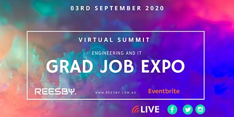 Volunteer at the Engineering and Graduate Career Expo (Virtual Summit) tickets