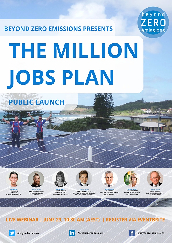 The Million Jobs Plan - Public Launch image
