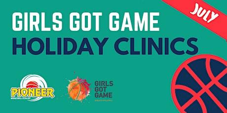 Girls Got Game Basketball Clinics tickets