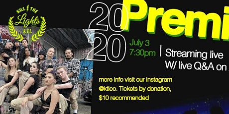 """Ktlco presents: """"Premiere 2020"""" Live online year end event tickets"""