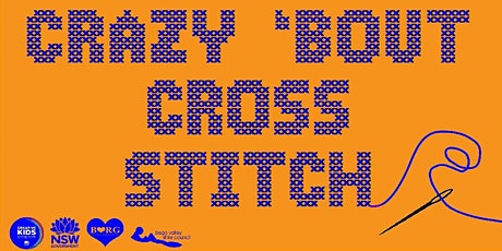 Crazy 'Bout Cross Stitch tickets