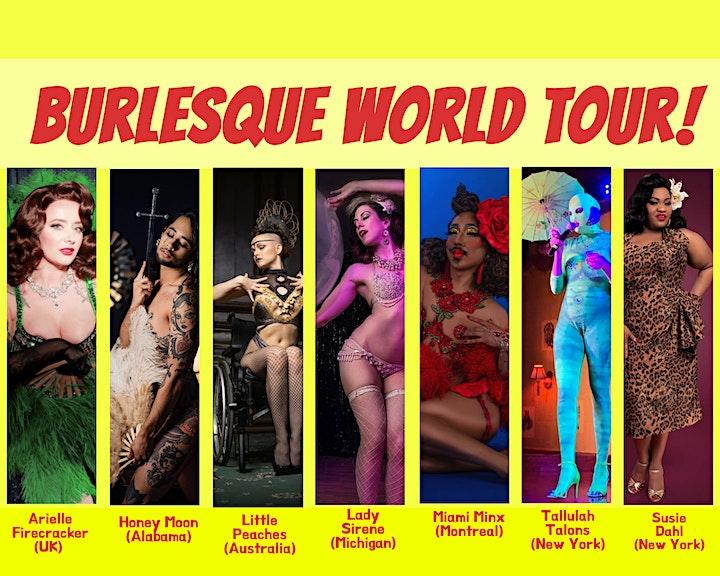 Burlesque World Tour! image