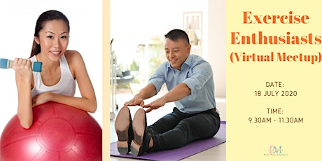 Exercise Enthusiasts (Virtual Meetup) tickets