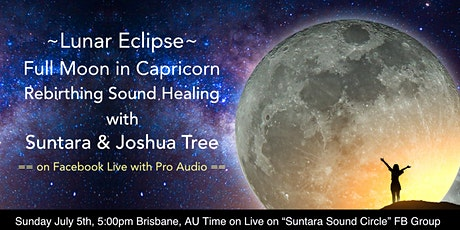 Full Moon in Capricorn Rebirthing Breathwork Sound Healing tickets