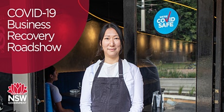NSW Government COVID-19 Business Recovery Roadshow - Webinar tickets
