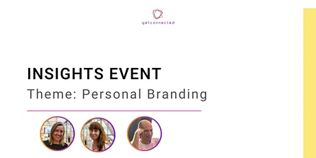 INSIGHTS EVENT: Personal Branding tickets