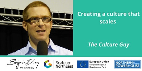 Creating a culture that scales – The Culture Guy tickets