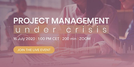 Project Management Under Crisis tickets