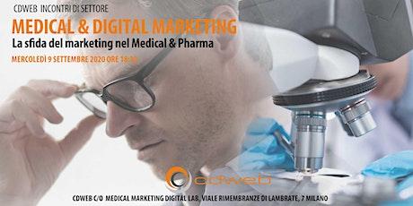 Medical & Digital - CDWEB Incontri di settore biglietti