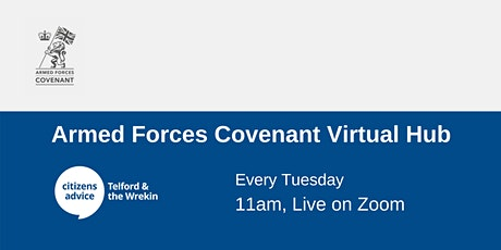 Armed Forces Covenant Virtual Hub tickets
