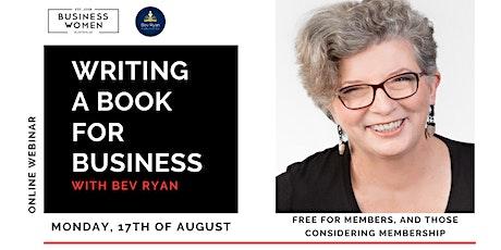 Online, Webinar: Writing a Book for Business tickets